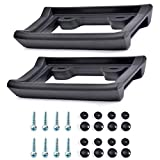 AR-PRO Ultimate License Plate Bumper Guard Screws Included - 2.3' Thick Rubber License Plate Mount Protects Bumper from Scratches and Dents - Universal Fit for Cars, Trucks, SUVs, and Vans