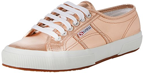 Superga 2750 Cotmetu, Damen Low-Top Sneaker, Gold (Rose Gold), 38 EU (5 UK)