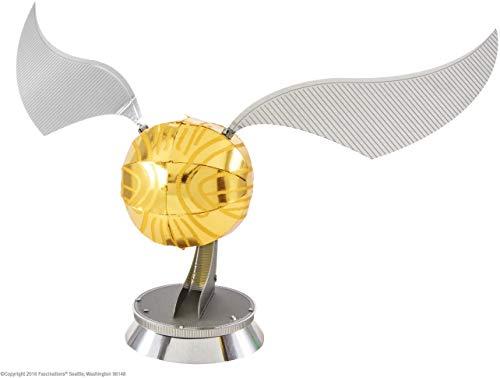 Metal Earth- Harry Potter Golden Snitch Kit de Modelo 3D, Color, estándar (MMS442)