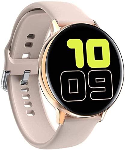 YLB Smart Watch 1 4 Pollici Pressione sanguigna Blood Oxygen Frequenza cardiaca Test di Salute Sleep Impermeabile Fitness Trackerr (Color : A)
