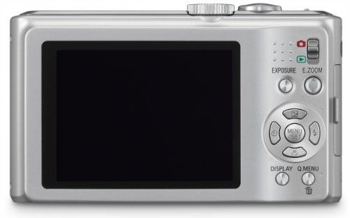 Panasonic Lumix DMC-TZ8EG-S Digitalkamera (12 Megapixel 12-fach opt. Zoom, 6,9 cm (2,7 Zoll) Display, Bildstabilisator) silber