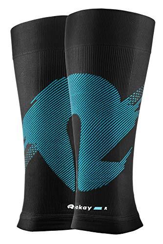 ROCKAY Blaze Wadenkompressionsstrümpfe – Unisex Calf Sleeve, Wadenbandage, Beinstulpen, Stutzen, Schienbein-Schutz, Sport Beinlinge, gegen Beinschmerzen, Krämpfe, ohne Fußteil, 16-23 mmHg – 1 Paar - 4