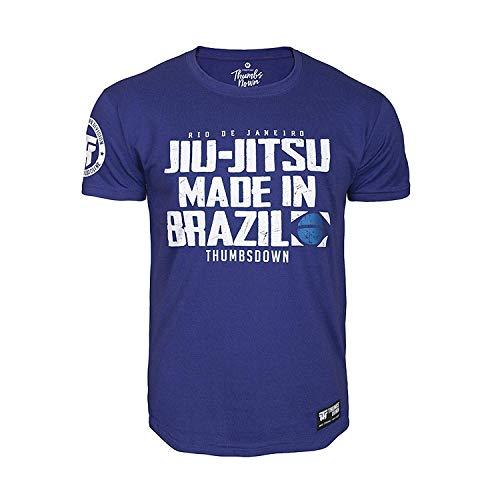 Thumbs Down Jiu-Jitsu Brasileño Camiseta Rio Des Janeiro. H