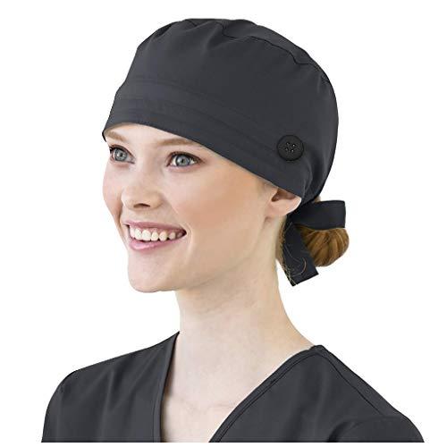 Gorra De Trabajo para Enfermeras Dentista, Dentista, Gorro de Trabajo de Salón de Belleza para Enfermeras, Gorro quir/-úrgico, Gorros Quirofano Mujer para Enfermera en Apuros, Sombrero de Calabaza