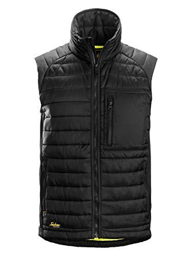 Snickers Workwear AllroundWork Isolator Arbeitsweste schwarz | XL