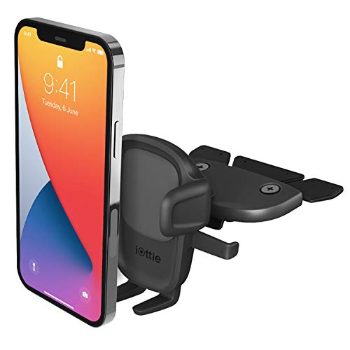 iOttie Easy One Touch 5 CD Slot Car Mount Phone Holder for iPhone, Samsung, Moto, Huawei, Nokia, LG, Smartphones
