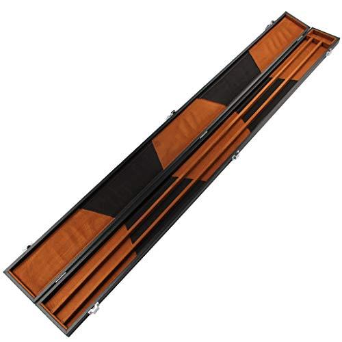 WXS 3/4 Custodia for Stecca da Biliardo con Angoli rinforzati per Pool Snooker Stecca-Mantieni 2 Stecca da Biliardo