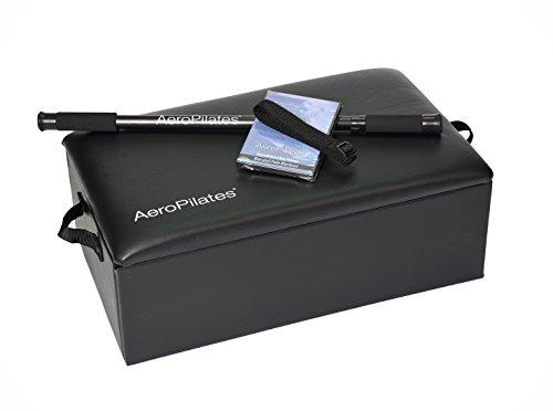AeroPilates Box & Pole | Reformer Accessory for Exercises That Advance Range of Motion, Flexibility & Strength