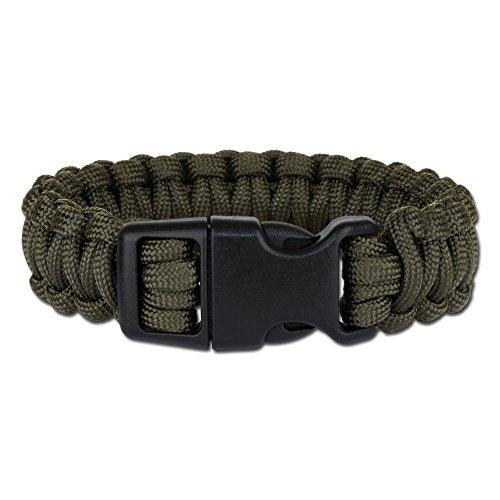 Mil-Tec Bracelet de Paracorde (Olive, Small)