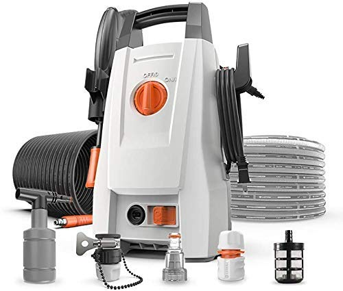 Zjcpow Powerful 1400W Compact Pressure Washer, Jet Wash Full Control Car And Home Pressure Washer, for Car And Home Garden Patio Cleaner xuwuhz (Size : 1)