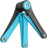 FOLDYLOCK Compact Bike Lock Blocco Catena per Biciclette Compatto a...