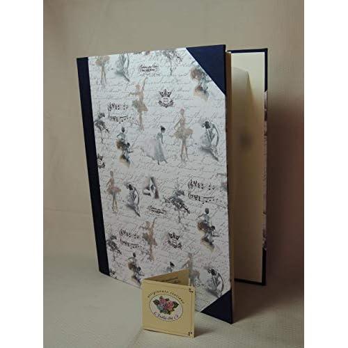 Album foto artigianale 23 x 30-30/50 fogli - serie CARTE VARIE (A)