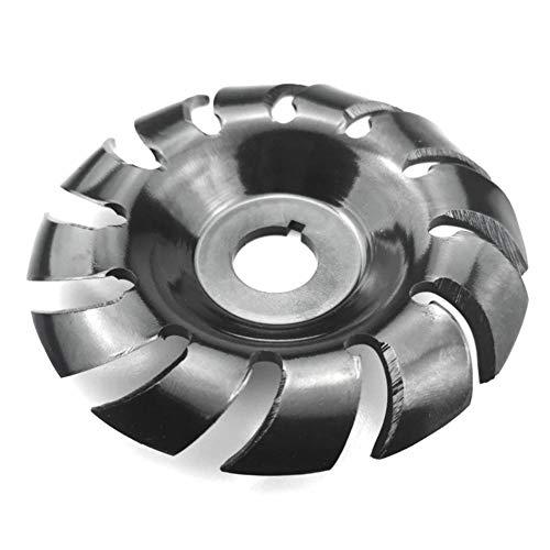 Acero al manganeso 90mm 12 dientes disco de tallado de madera amoladora de diámetro disco de modelado para amoladora angular 100115 carpintería 16mm 3 piezas