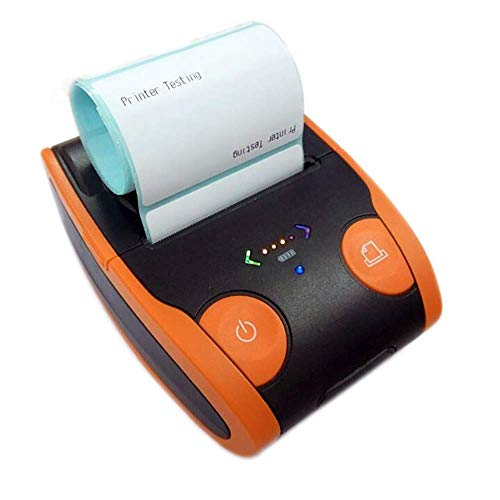 Atten Imprimante d'étiquettes, Petite imprimante électronique, Accueil et Code Barre imprimante Bluetooth Portable d'affaires Imprimante adapté for Le Bureau Magasin Supermarché 58MM