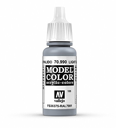 Vallejo - Model Color Pintura Acrílica, Gris Pálido (70990)