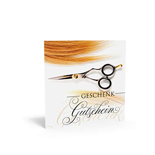 Pithagoras Quadra K831 - Cupón para peluquería, coiffeure, Estudios de Pelo y Estilos de Cabello con Gran Campo para Sellos de Empresa