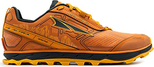 ALTRA Men's ALM1855L Lone Peak 4 Low RSM Waterproof Trail Running Shoe, Burnt Orange - 8 M US