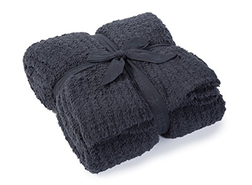 Why Choose Barefoot Dreams CozyChic Ribbed Throw Blanket, Color: Slate Blue
