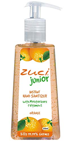 Zuci Junior Instant Hand Sanitizer - 250ml Orange