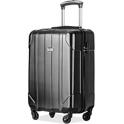Merax Hardside Spinner Luggage 24 inch Luggage Lightweight Spinner Suitcase