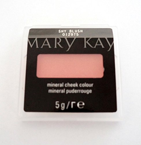 Mary Kay Mineral Cheek Colour Mineral polvo Rouge 5G Color Shy Blush MHD 2019