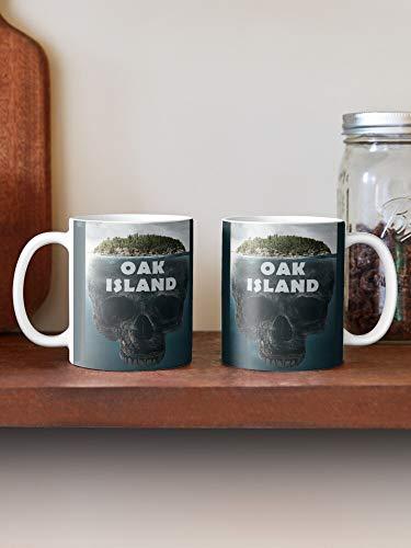 Oak Island Nova Scotia Kanada Tasse 313 ml Weihnachten Hanukkah Geschenk für Männer und Frauen, die Teetassen und Kaffeetassen lieben