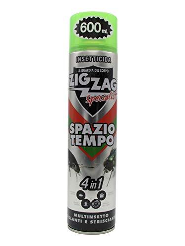 Zig Zag Specialist - Spazio Tempo - Insetticida Multinsetto Volanti e Striscianti...