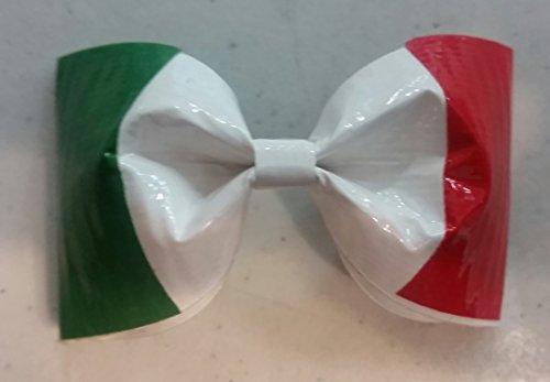 Top italian flag hair bow for 2020