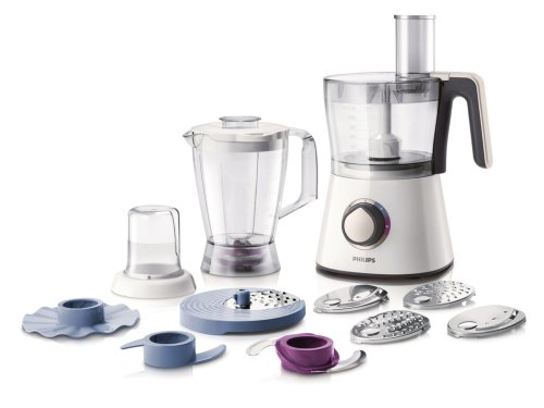 Philips HR7761/00 Robot Viva Collection Blanc 750 W Bol + Blender + Hachoir