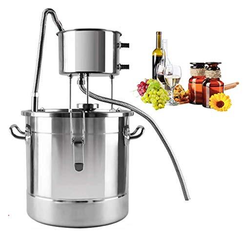 Ling AI DA MAI Destilador de Agua doméstico de Acero Inoxidable, destilador de Agua, tubería de Cobre, Herramienta de elaboración doméstica, Laboratorio, destilador eléctrico de Agua Pura para el ho
