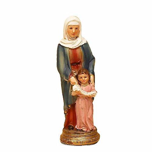 Trofeos Cadenas | Santa Ana con Virgen niña. Figura Religiosa, de Resina, de 11 cm