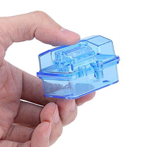 Alomejor1 Caja receptora a Prueba de Agua Caja de recepción de Control Remoto para Coche RC Slash de plástico para Huanqi727 Pieza