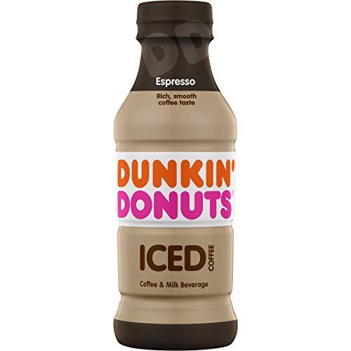 Dunkin' Donuts Espresso Iced Coffee Bottle, 13.7 fl oz