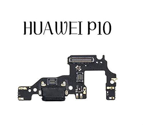 MOLIBAIHUO Compatible con Huawei P8 P9 P10 Lite Plus P8 Lite 2017 Cargador Puerto de Carga Dock Conector USB Datos Flex Cable Auriculares Jack Flex Ribbon Flex Cable (Color : For P10)