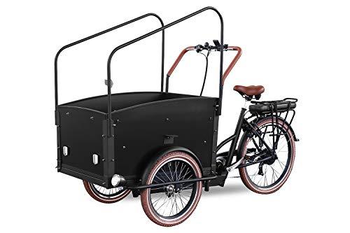 Elektrofahrrad Qivelo City E-Bike 250W Pedelec Lastenfahrrad 26 Zoll 7-Gang Shimano