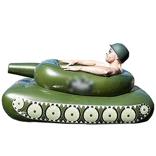 Pool Aufblasbare Hängematte Schlauchboot Mit Aufblasbarem Tank, Wassersprühring Vom Typ Pooltank,Bequemes Sommer-Schwimmbecken-Spielzeug,61in