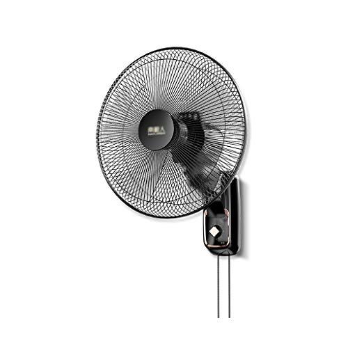 LJHA fengshan Montado En La Pared del Ventilador Eléctrico Mecánico, Hogar/Dormitorio Silencioso Ventilador Industrial Sacudiendo La Cabeza, 3 Gear Ajuste de La Velocidad del Viento
