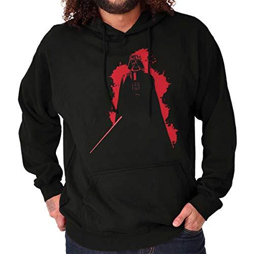 Dark Lord Villain Graphic Cool Nerd Geek Hoodie Black
