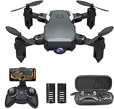 OBEST Mini Drone with Camera 1080P for Kids Beginners, WiFi FPV Live Video, VR Piggyback, Trajectory Pointing, Ultralight Portable Foldable RC Quadcopter With Gravity Sensor, Altitude Hold from 0best