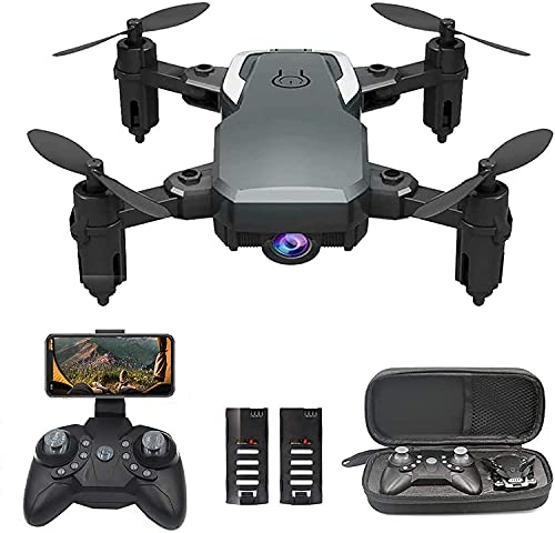 OBEST Mini Drone with Camera 1080P for Kids Beginners, WiFi FPV Live Video, VR Piggyback, Trajectory Pointing, Ultralight Portable Foldable RC Quadcopter With Gravity Sensor, Altitude Hold
