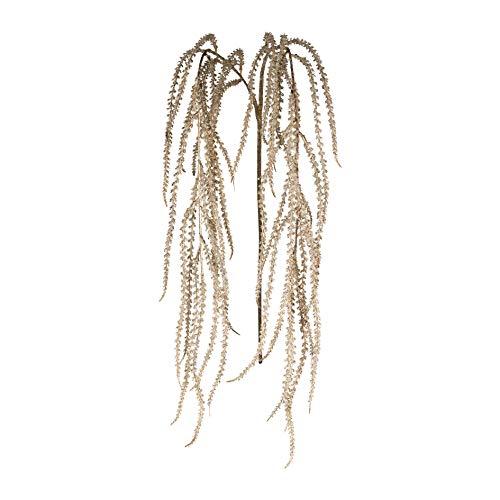 creativ home Kunstpflanze Amaranthus, Amarantus, Amarant, Fuchsschwanz 107 cm metallic Gold