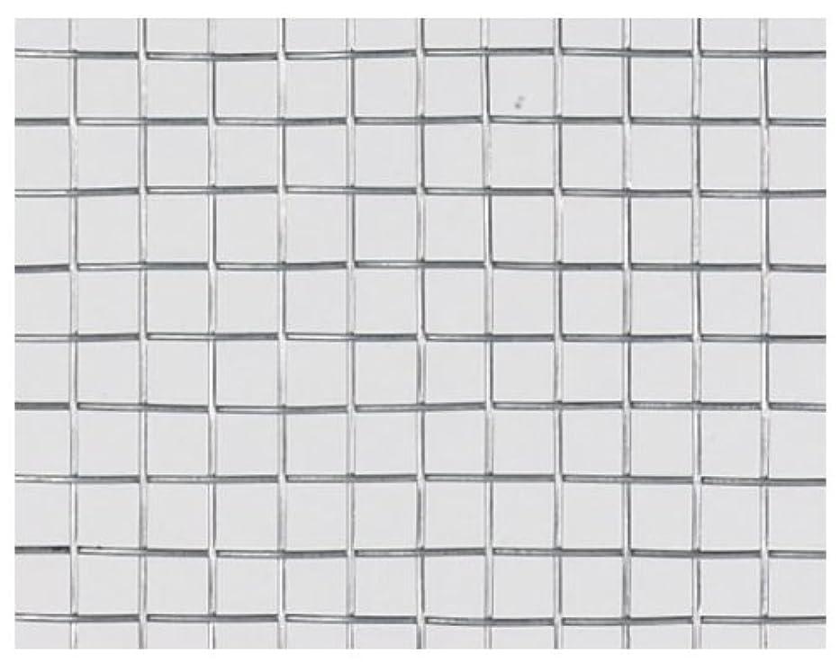 はさみ建設規定吉田隆 亜鉛引平織金網 0.9X3.2メッシュX455X30m