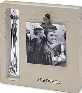 Mud Pie Gray Graduation Tassel Frame