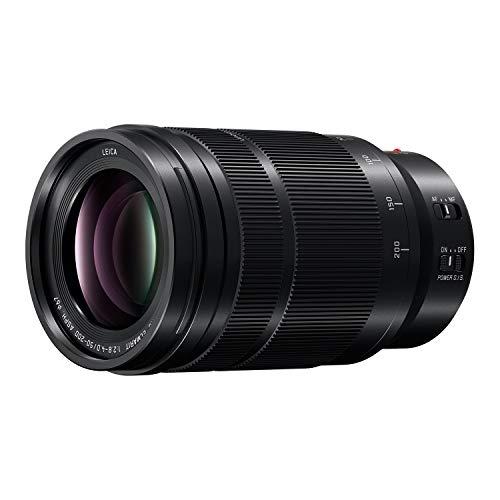 PANASONIC LUMIX Professional 50-200mm Camera Lens, G Leica DG Vario-ELMARIT, F2.8-4.0 ASPH, Dual I.S. 2.0 with Power O.I.S, Mirrorless Micro Four Thirds, H-ES50200 (Black)