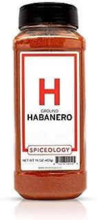 Habanero Powder - Spiceology Ground Dried Habanero - 16 ounces