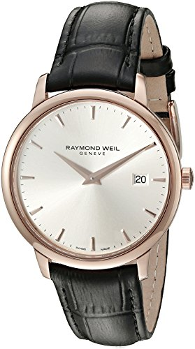 Raymond Weil Men's 5488-PC5-65001 Analog Display Quartz Black Watch