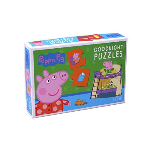 Peppa Pig Puzzel welterusten