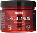 Prozis L-Glutamine Natural - Bote de 300 gr - Sabor Limón Manzana Naranja Melocotón. Para 2 Meses.