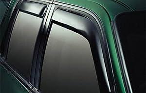 Outside Mount Rain Guards Visor Sun roof 5pc For Hyundai Santa Fe 2007-2012