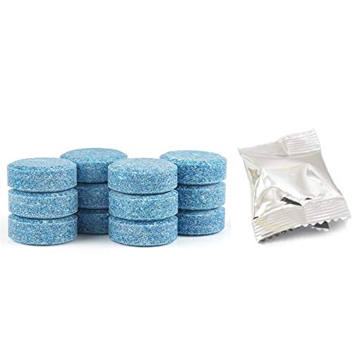 Effervescent Cleaner 10PCS Fine Concentrated Solid All Purpose Effervescent Cleaning (10 PCS Effervescent Cleaning Tablets)